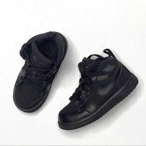 Nike Jordan AJ 1 Mid Black | 8C